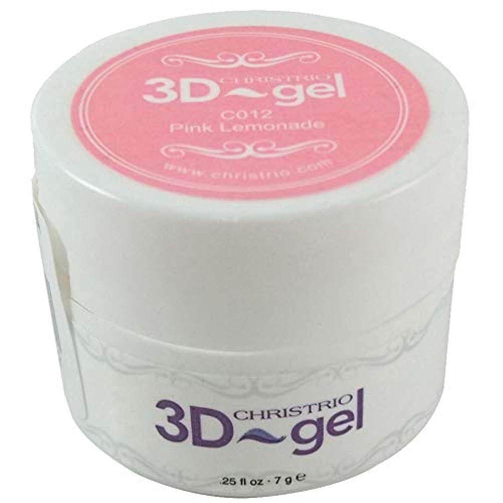いろいろくすぐったいニコチンCHRISTRIO 3Dジェル 7g C012 ピンクレモネード