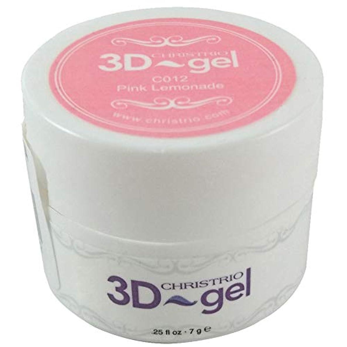 ダーリン側面実質的にCHRISTRIO 3Dジェル 7g C012 ピンクレモネード
