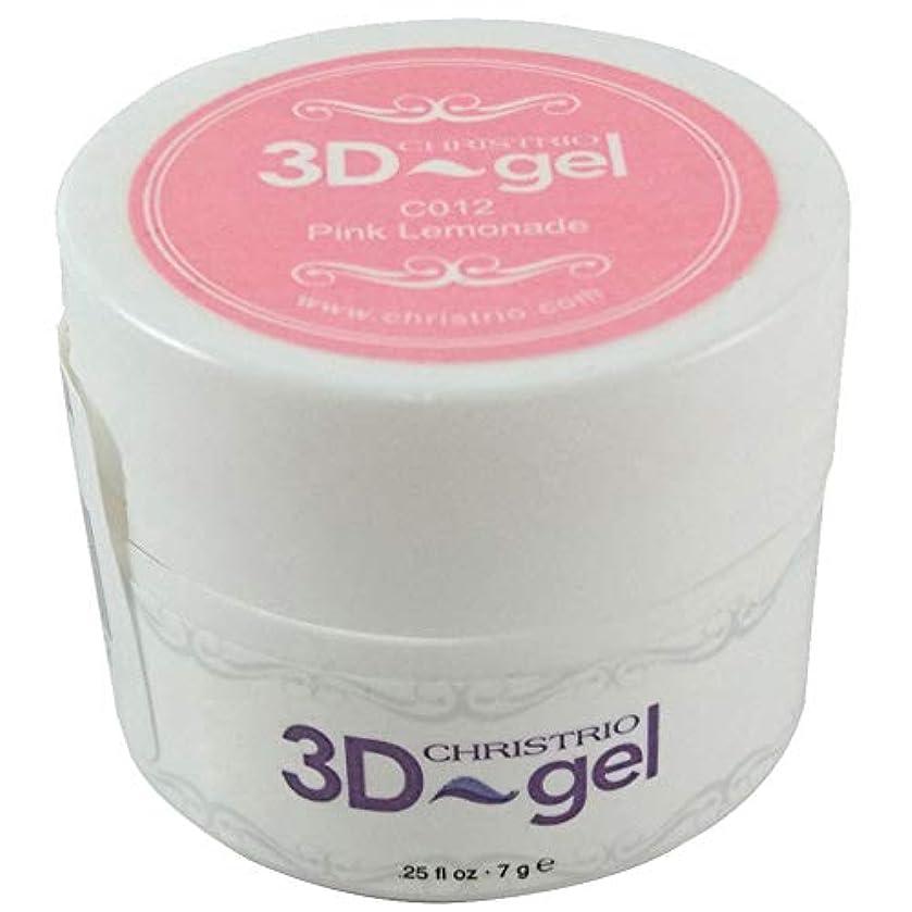 圧力共役配列CHRISTRIO 3Dジェル 7g C012 ピンクレモネード