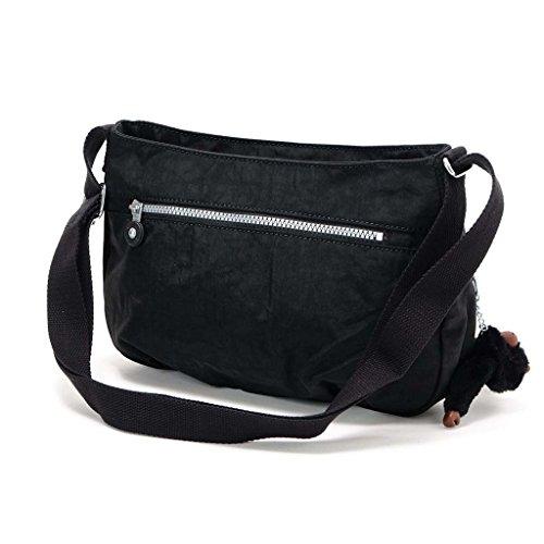 (キプリング)Kipling SYRO ショルダーバッグ Medium Shoulderbag (across body) 13163 900 Black レディース [並行輸入品]