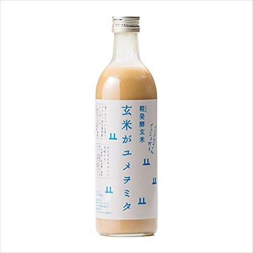 糀発酵玄米コシヒカリアモーレのみ使用した甘酒(玄米がユメヲミタ)490ml