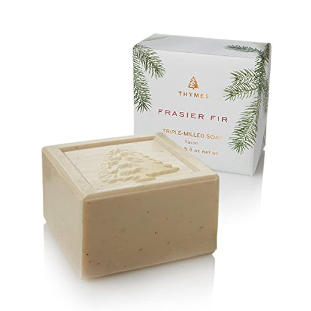 等価栄養可動Thymes Frasier Fir Bar Soap 155g/5.5oz