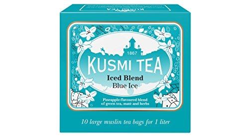 (KUSMI TEA) クスミティー ブルーアイス アイスティー ラージ ティーバッグ (個別包装なし) 9g×10袋入り