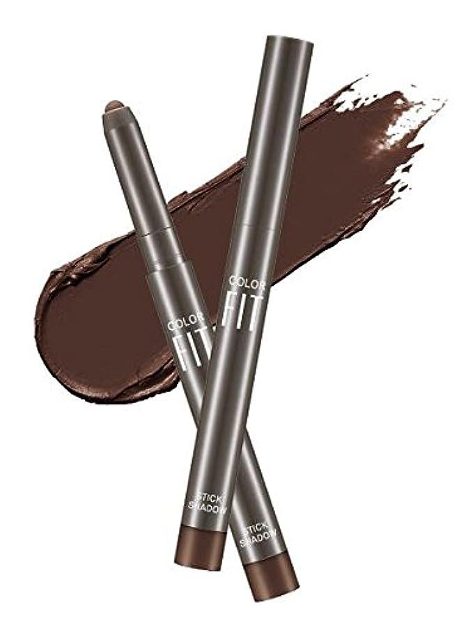 スケートシャツモザイク#Cacao Pound ミシャ カラーピットスティックシャドウ MISSHA Color Fit Stick Shadow [並行輸入品]
