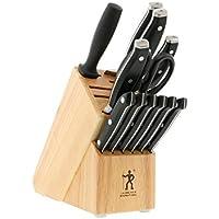 J.A. HENCKELS INTERNATIONAL Forged Premio 13-pc Knife Block Set       包丁 ナイフ ブラック 13本セット
