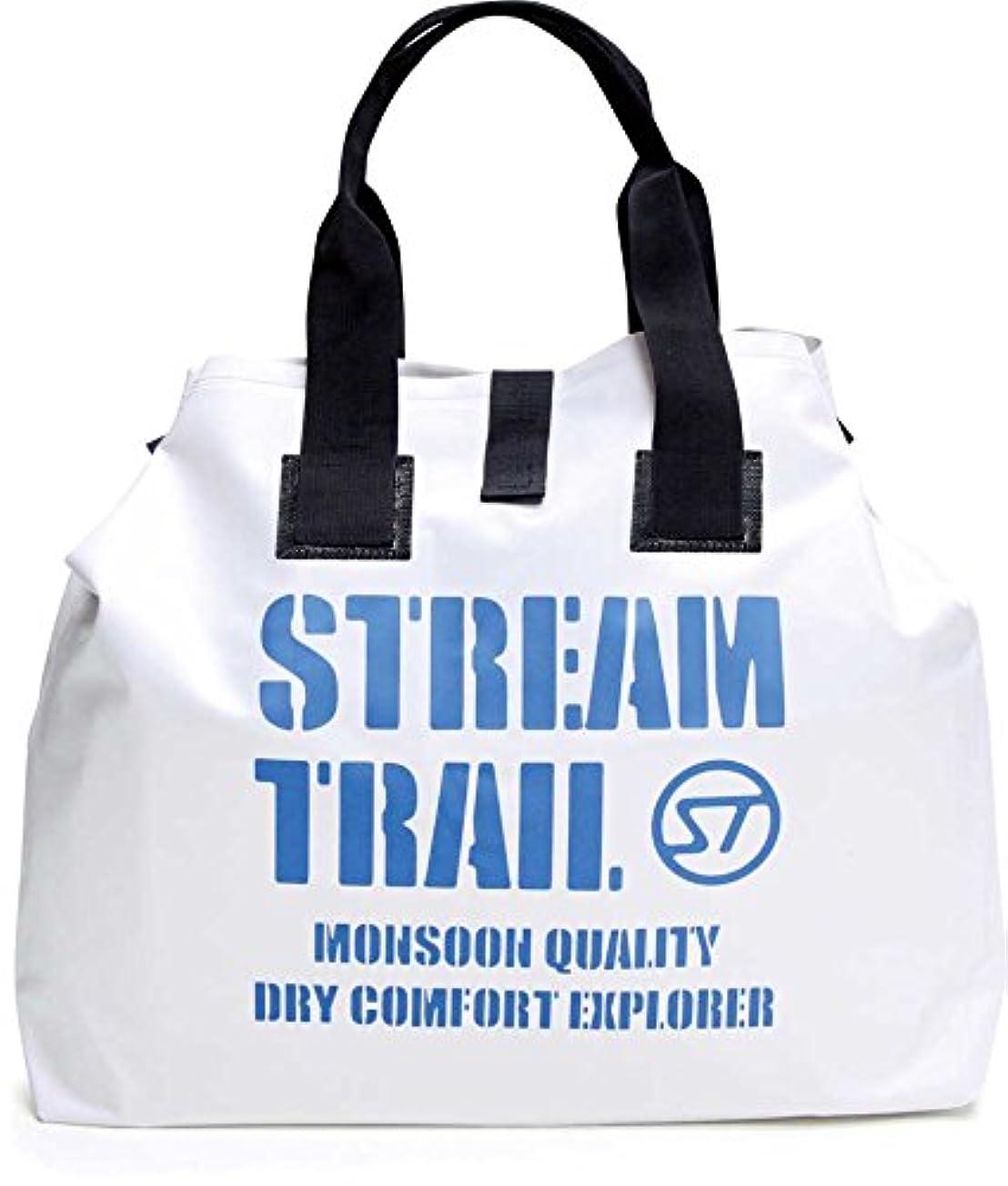 版称賛に負けるStream Trail(ストリームトレイル) ウェット トート バッグ35L ホワイト.
