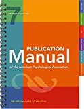Publication Manual of the American Psychological Association 画像