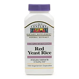 レッドイーストライス300ベジタリアンカプセル(2ボトル)   Red Yeast Rice 300 Vegetarian Capsules (in 2 bottles)