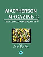 Macpherson Magazine Chef's - Receta Caballas al horno con limón