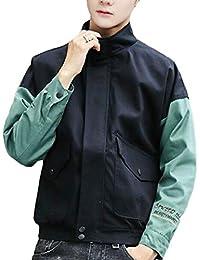 gawaga メンズ?フライトジャケット軽量コート風防がよい