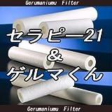 セラピー21・ゲルマくん【交換用フィルター 6本セット】ゲルマニウム温浴・温浴器
