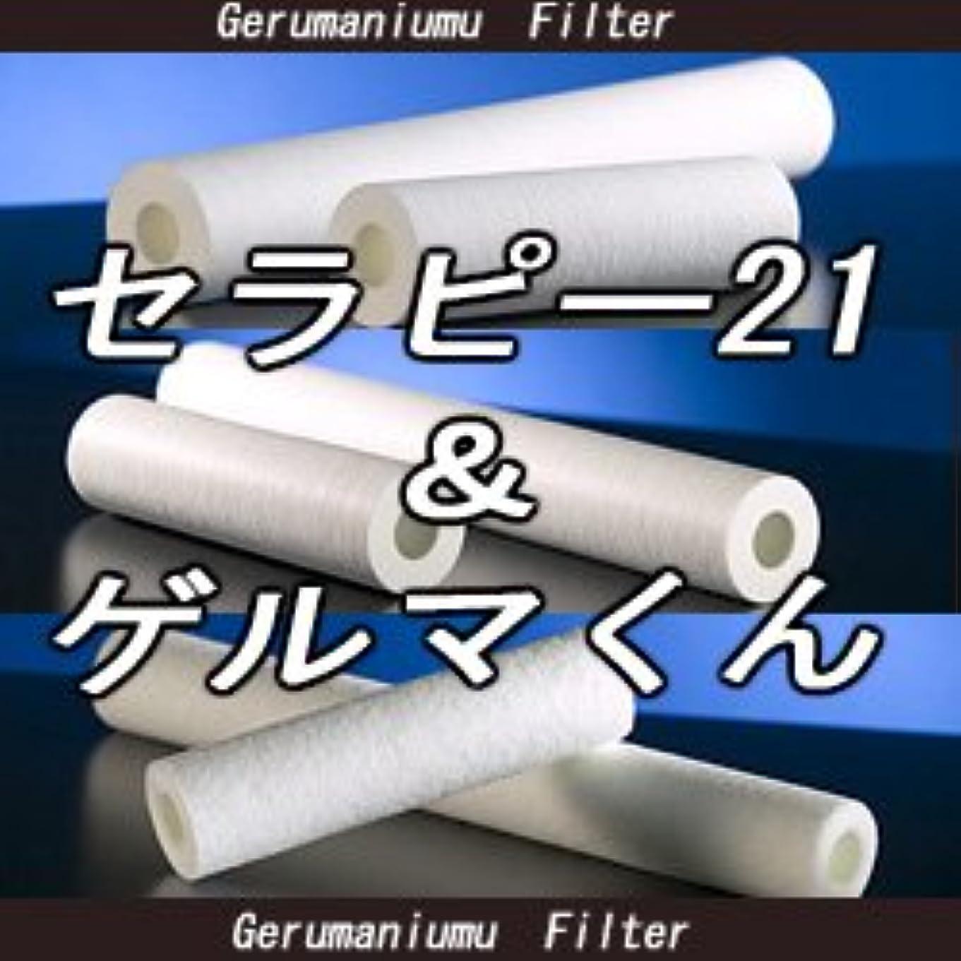 凍る信じるゆりかごセラピー21?ゲルマくん【交換用フィルター 6本セット】ゲルマニウム温浴?温浴器