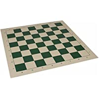 Club Vinyl Rollup Chess Board Green & Buff - 2.375 Squares by The Chess Store [並行輸入品]