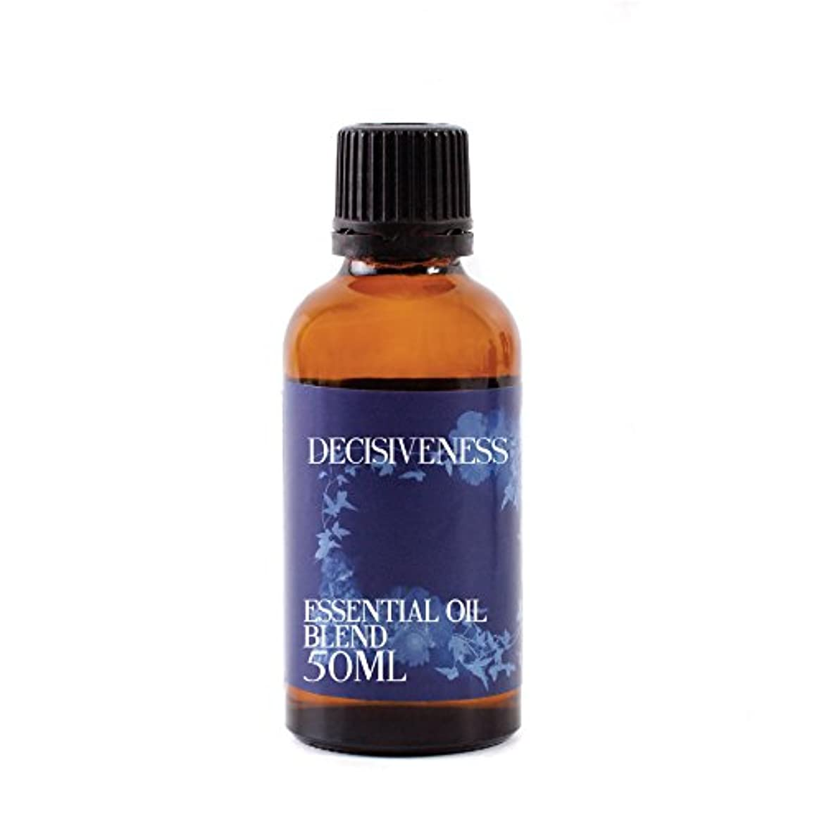 ルビーくるくる増幅するMystic Moments | Decisiveness Essential Oil Blend - 50ml - 100% Pure