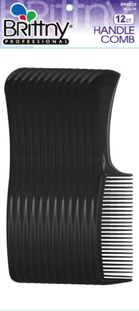 再生土地リンスBrittny Combs - Bulk Handle Black (12 pcs.) [並行輸入品]