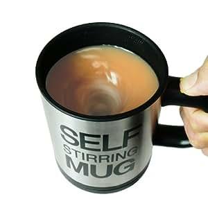 もうスプーンは不要!?ワンプッシュするだけで自動で混ぜるマグカップ