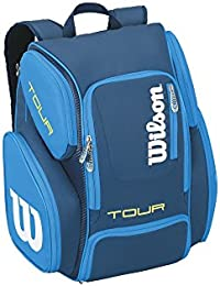 WILSON(ウィルソン)テニス用ラケットバッグ ツアーV バックパック ラージ ブルー WRZ844696