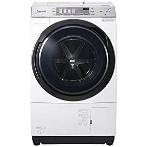 パナソニック 濯槽自動お掃除・ヒートポンプ乾燥機能付ドラム式洗濯乾燥機(左開き) クリスタルホワイト NA-VX3800L-W