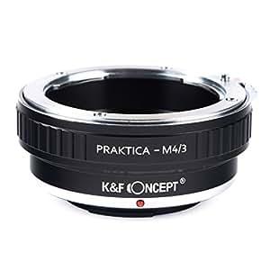 K&F Concept レンズマウントアダプター KF-PBM43 (プラクチカBマウントレンズ → マイクロフォーサーズマウント変換)