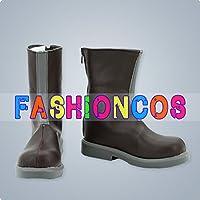 ★サイズ選択可★女性23CM UA0608 鋼の錬金術師 ウィンリィ・ロックベル コスプレ靴 ブーツ