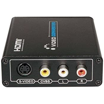 LKV381 HDMI to Composite/S-Video Converter / HDMI出力をS端子、コンポジット出力へ変換