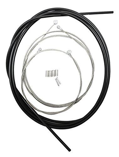 シマノ スタンダードブレーキケーブルセット ブラック Y80098022