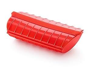 ルクエ スチームケース レギュラーサイズ トマト スペイン製 62036