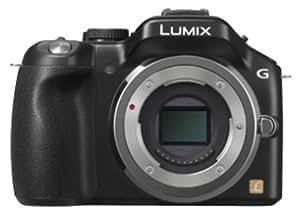 Panasonic ミラーレス一眼カメラ ルミックス G5 ボディ 1605万画素 エスプリブラック DMC-G5-K