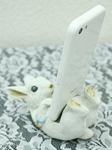 Kishima ホールディングフォンアニマル スマートフォンスタンド ウサギ KH-60994