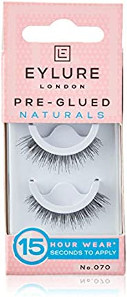 Eylure pre-glued lashes, naturals, no. 070
