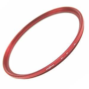 ZEROPORT JAPAN レンズ保護用フィルター マルチコート MC-UVフィルター ドレスアップフィルター 52mm RED FBWZPJRED52