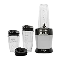 Nutri Ninja BL480ANZMN Nutrient Extractor, Black and Chrome