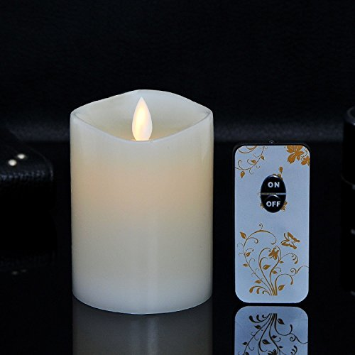 woolkom 充電式 LED キャンドル USB付け ろうそく癒しの灯り ろうそくライト 超リアルなLED キャンドルライト 省エネ・長持ち・便利