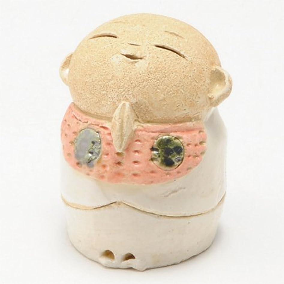 ヨーグルト持続的このお地蔵様 香炉シリーズ 前掛 お地蔵様 香炉 2.0寸 [H6cm] HANDMADE プレゼント ギフト 和食器 かわいい インテリア
