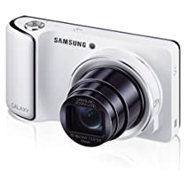 """Samsung Galaxy Camera GC110 with Android Jelly Bean v4.2 OS, 16.3MP CMOS with 21x Optical Zoom and 4.8"""" Touch Screen LCD (White)"""