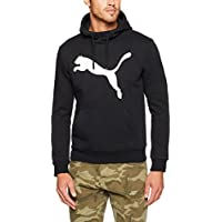 PUMA Men's ESS NO.1 HOODY, FL  Medium Gray Heather