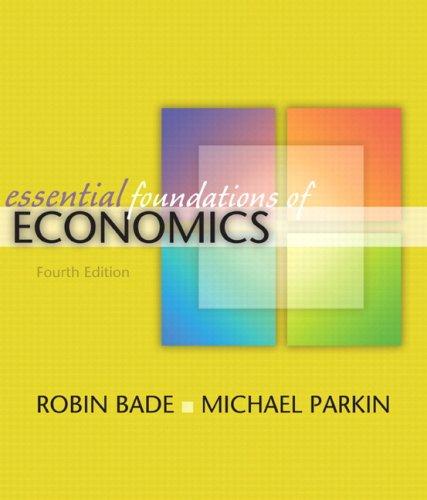 Download Essential Foundations of Economics plus MyEconLab plus eBook 1-semester Student Access Kit (4th Edition) 0321522354