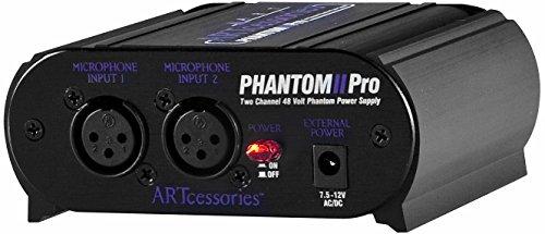 ART エー・アール・ティー 48Vファントム電源供給器 Phantom II Pro 【国内正規輸入品】
