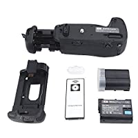 DSTE Pro IR Remote MB-D16 Vertical Battery Grip + 2x EN-EL15 for Nikon D750 SLR Digital Camera [並行輸入品]
