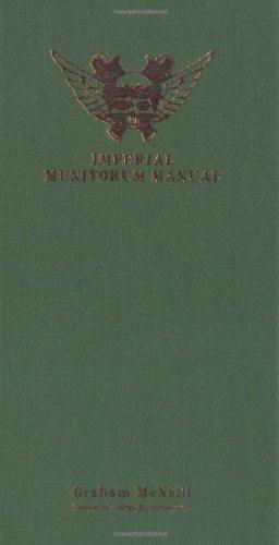Download Imperial Munitorum Manual (Warhammer 40, 000 S.) 1844165027