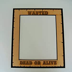 Photo Booth Props Wanted Dead or Alive 20 X 23 Signs Frames [並行輸入品]