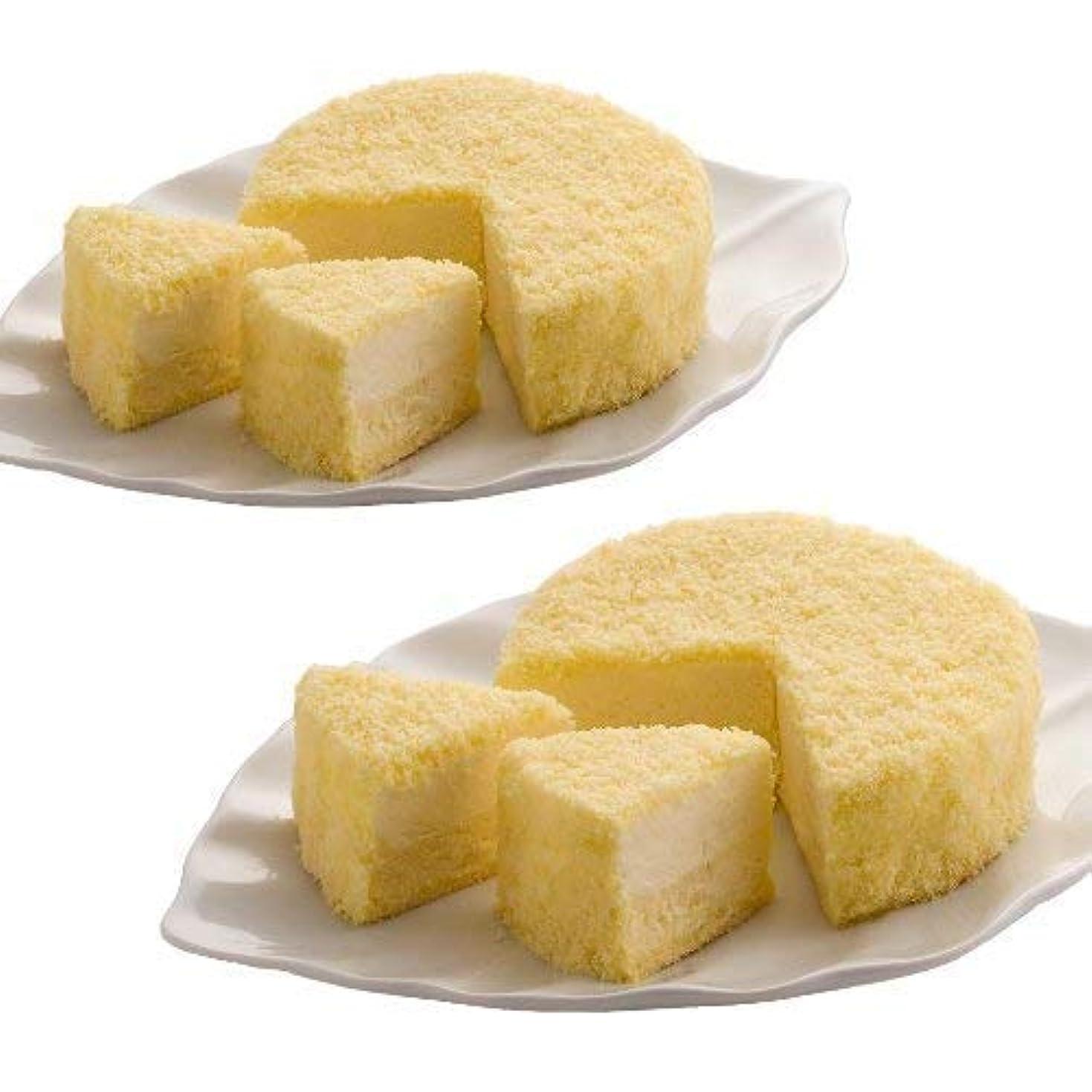 先見の明群衆物足りないLeTAO(ルタオ) チーズケーキ 食べ比べセット ドゥーブルフロマージュ 2個セット 4号サイズ(直径12cm) × 2個