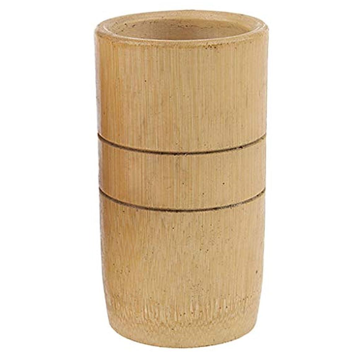 ボイコット受粉者天国2個 マッサージ吸い玉 カッピング 天然竹製 全身マッサージ用 血流促進