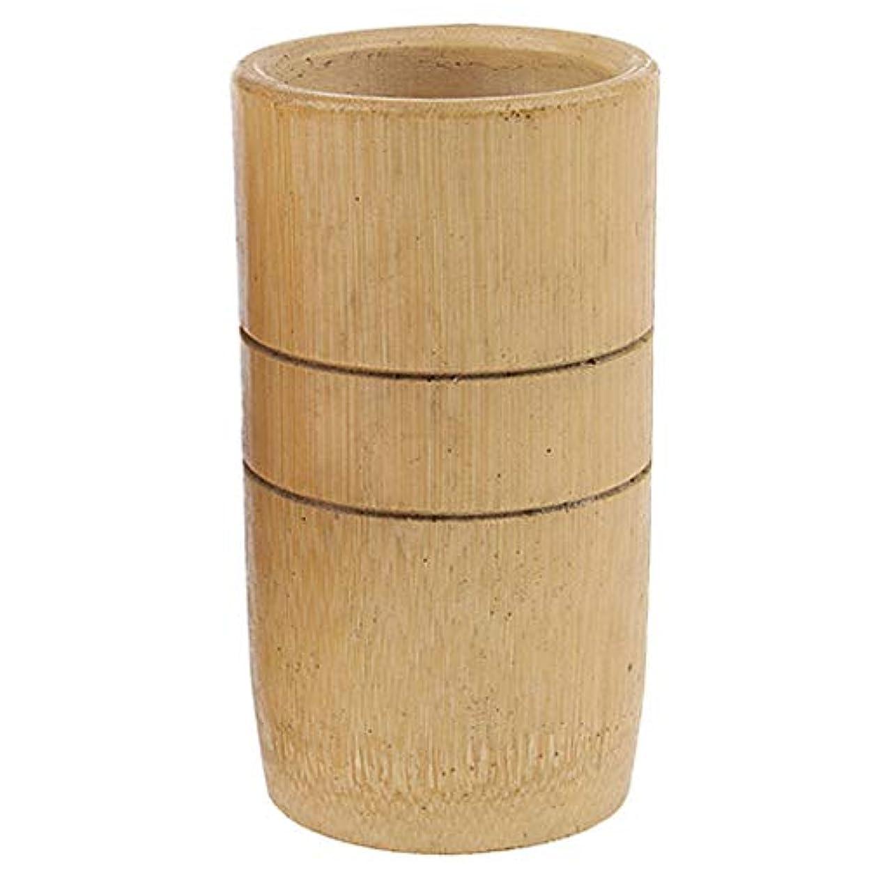 Hellery 2個 マッサージ吸い玉 カッピング 天然竹製 全身マッサージ用 血流促進