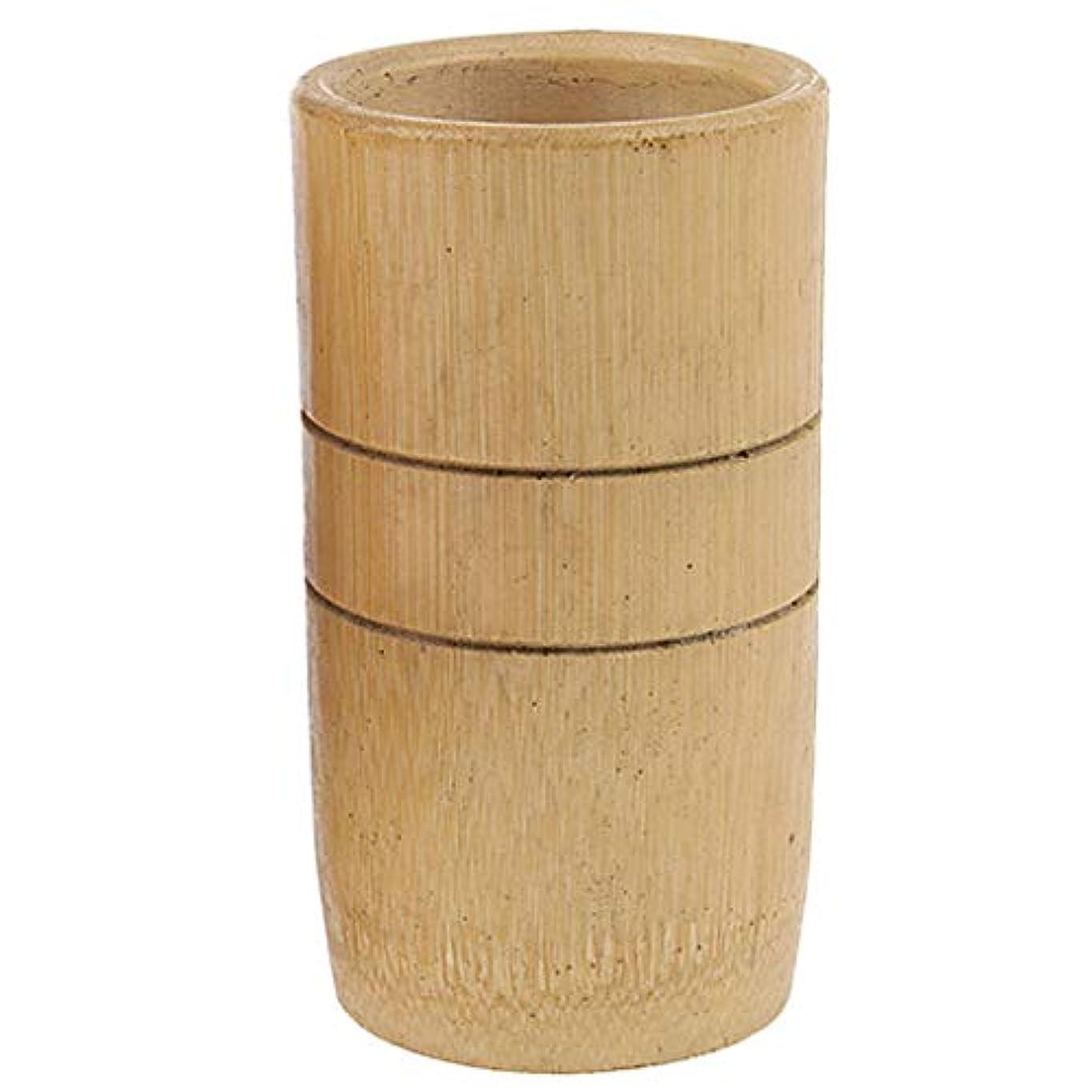 谷サルベージ出身地Hellery 2個 マッサージ吸い玉 カッピング 天然竹製 全身マッサージ用 血流促進