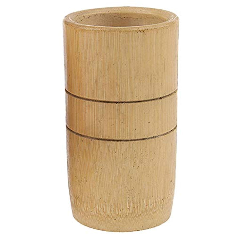 メイト若者スロットマッサージ吸い玉 カッピング マッサージカップ 天然竹製 ユニセックス 2個入