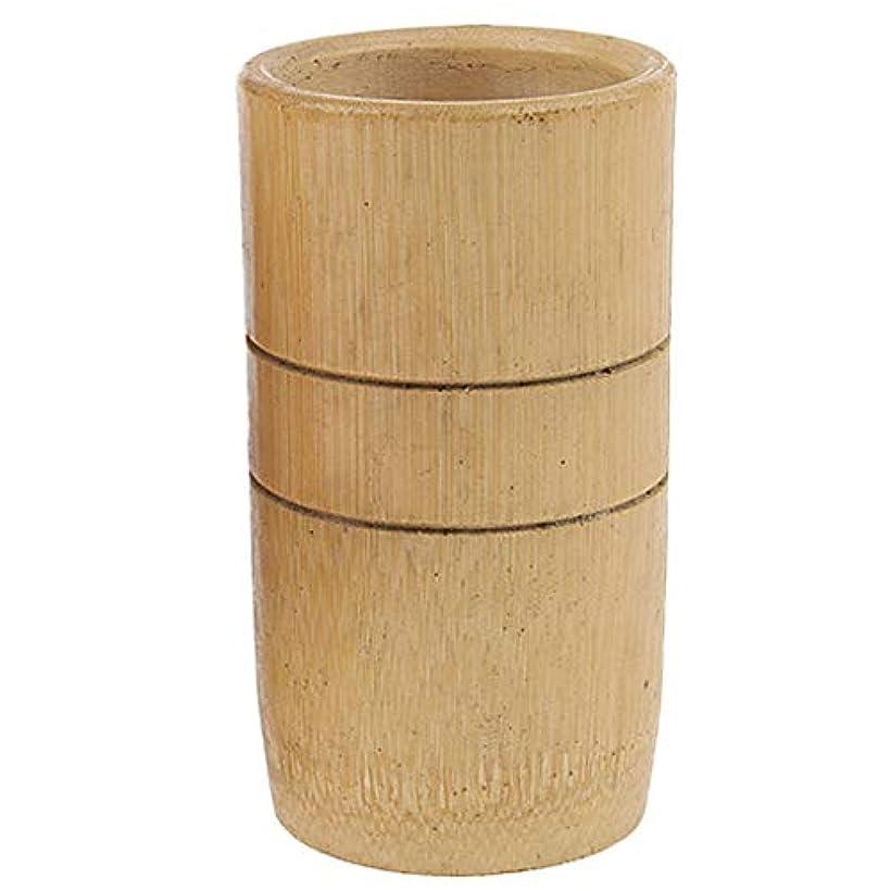 まどろみのある乱雑な昼間マッサージ吸い玉 カッピング マッサージカップ 天然竹製 ユニセックス 2個入