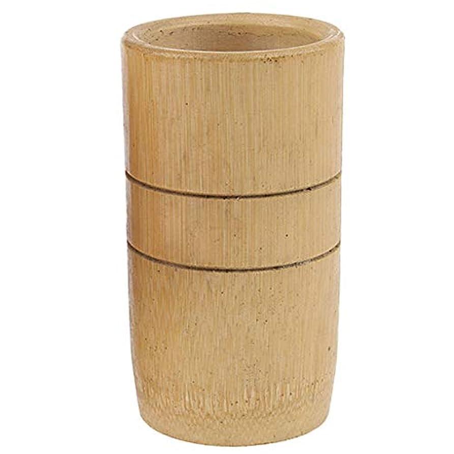 適切な起こりやすい慣習Hellery 2個 マッサージ吸い玉 カッピング 天然竹製 全身マッサージ用 血流促進