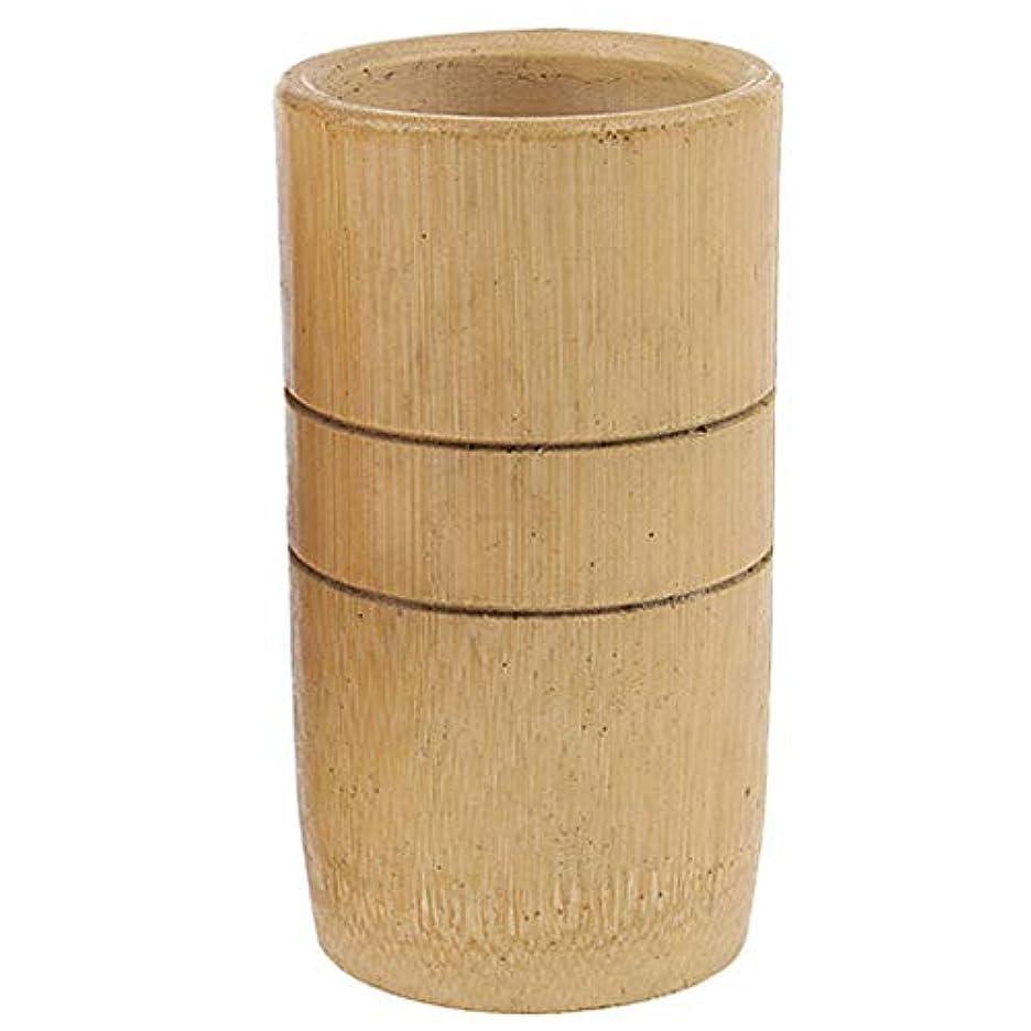 軌道シンカンマウンド2個 マッサージ吸い玉 カッピング 天然竹製 全身マッサージ用 血流促進