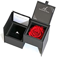 SUEHIRO バラ ケース 婚約指輪 結婚指輪 エンゲージ リング 指輪 ジュエリーケース ジュエリーボックス